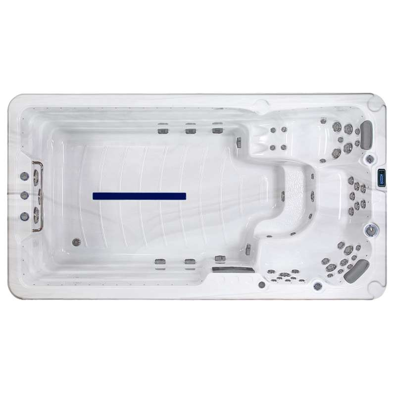 A-Spas Lounge 4100 Swim Spa Whirlpool-/ Schwimmbereich kombiniert 410 x 225 x 142 cm
