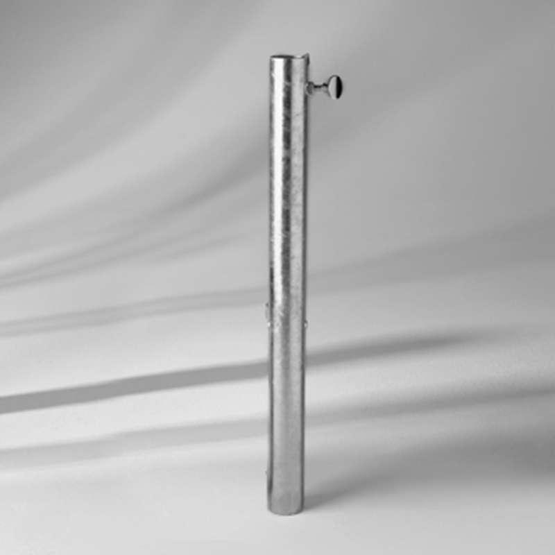 GLATZ Übergangsrohr ST ø 25 - 33 mm Stahl verzinkt als Schirmbefestigung
