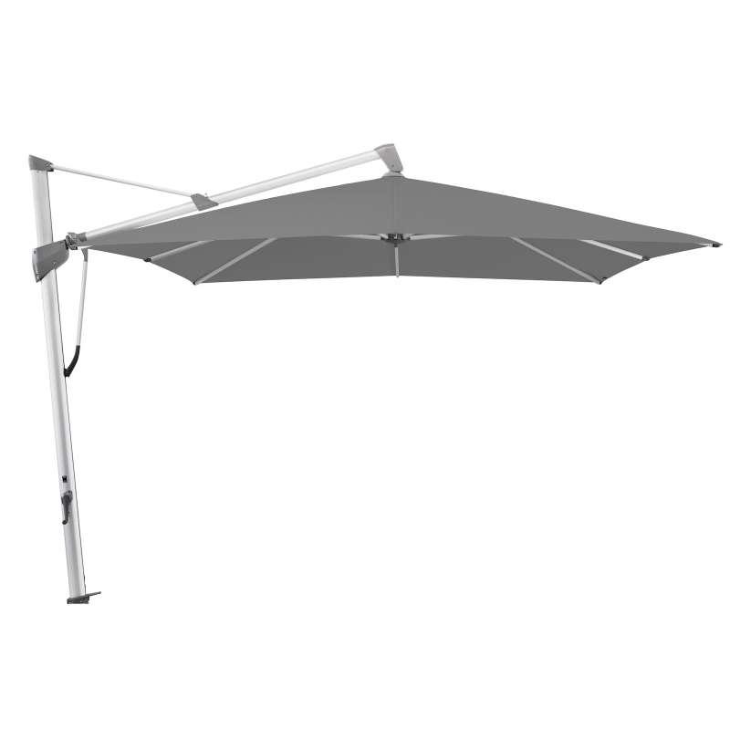 GLATZ Sonnenschirm SOMBRANO® S+ 300 x 300 cm Stoffklasse 4 Smoke 420