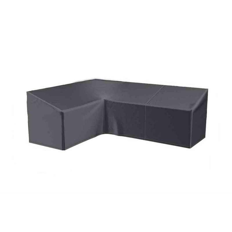 AeroCover Schutzhülle für L-förmige Lounge-Sets L270xR210x85xH65/90 cm Schutzhaube Sitzgruppe