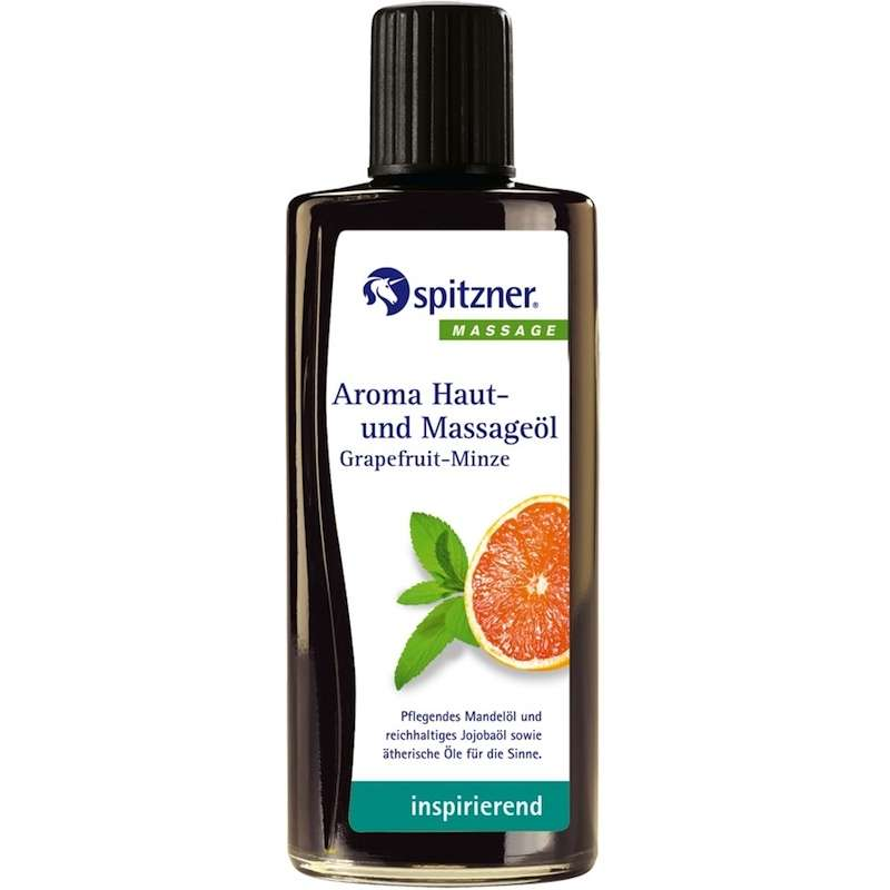 Spitzner Aroma Haut- und Massageöl Grapefruit Minze 190 ml 27400025