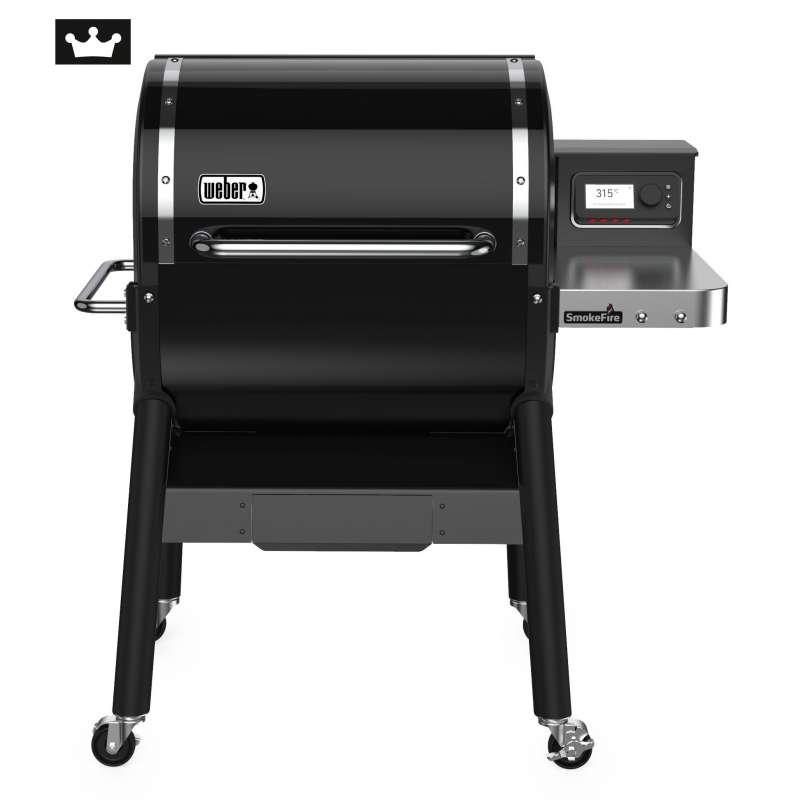 Weber SmokeFire EX4 GBS Holzpelletgrill Black