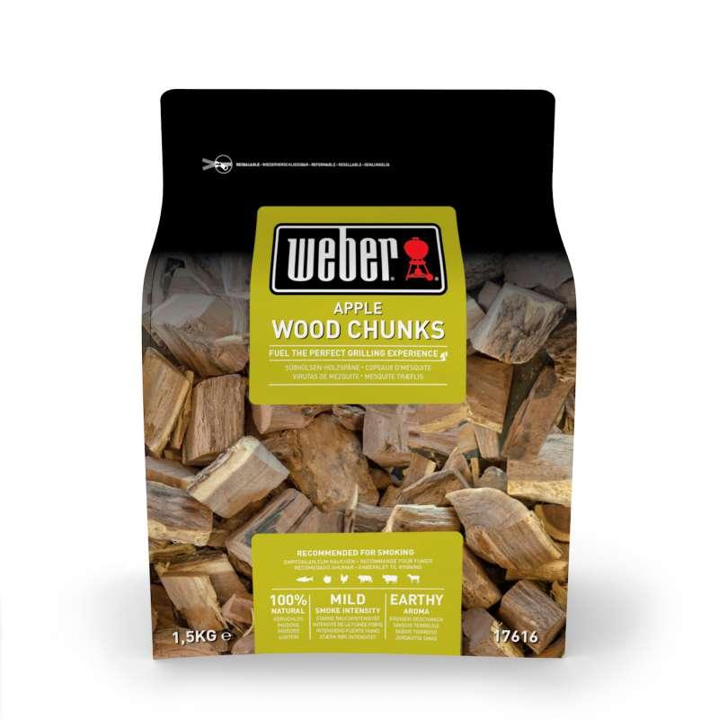 Weber Wood Chunks - Fire spice Holzstücke aus Apfelholz 1,5 Kg