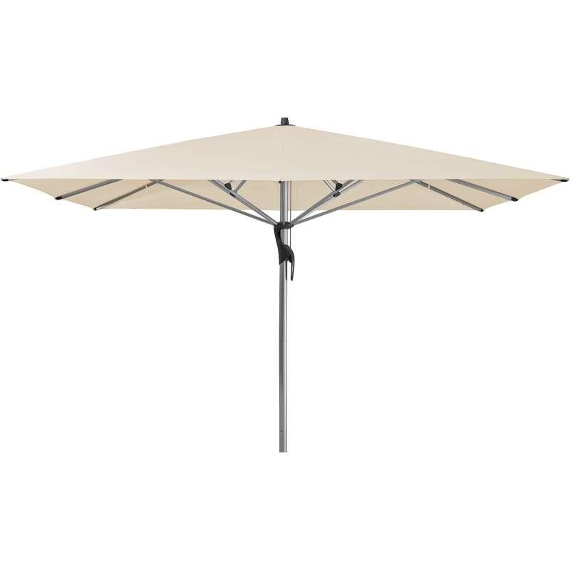 GLATZ Sonnenschirm FORTELLO® easy 400 x 400 cm Stoffklasse 2 Eggshell 150