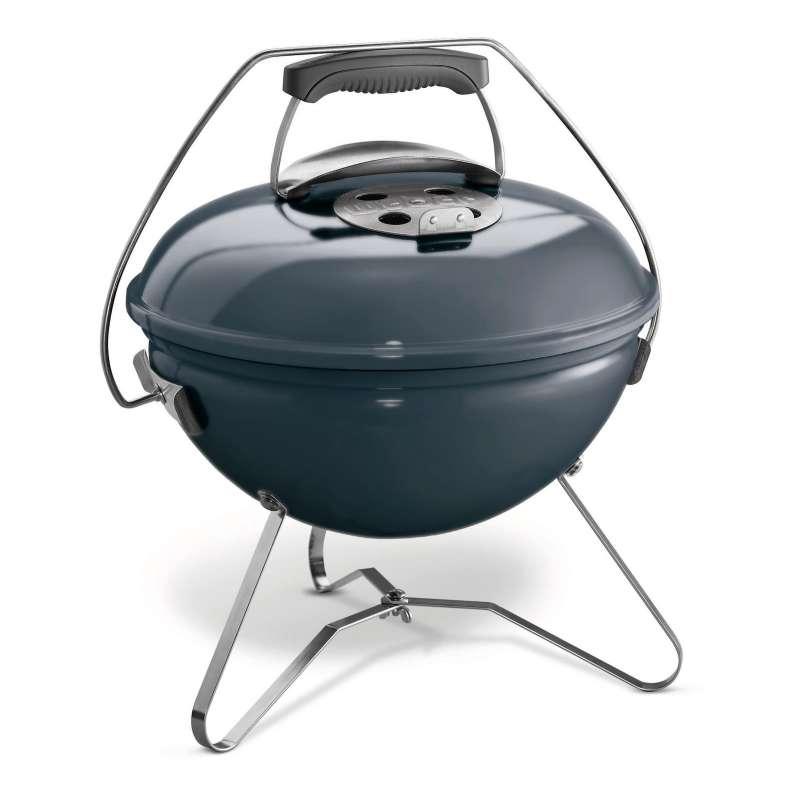Weber Holzkohlegrill Smokey Joe Premium Charcoal Grill ø 37 cm Slate Blue