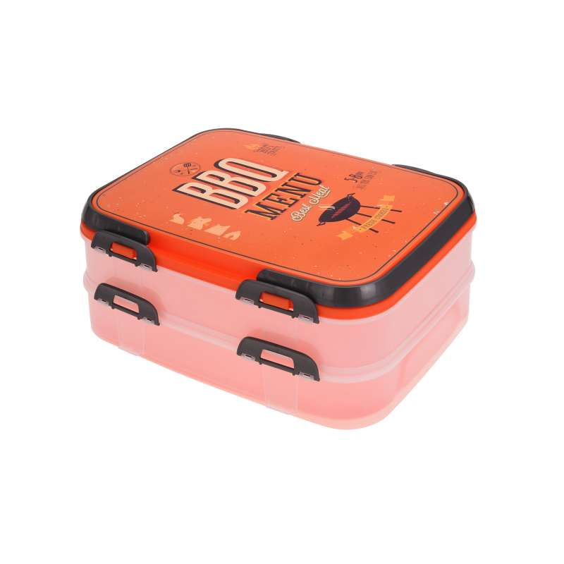 XXL Jausenbox 36x28x17,5 cm Lunchbox Brotbox Brotdose Vesperbox Business Lunch