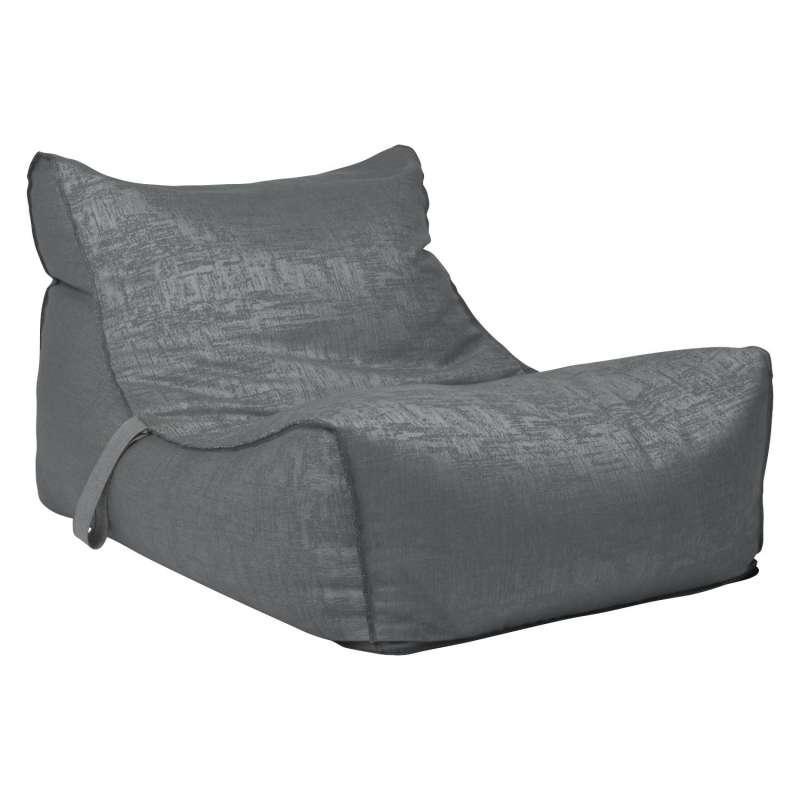 Stern Chillsessel Matti Outdoorstoff dunkelgrau/schiefergrau 120x78 cm Loungesessel Sitzsack Sessel