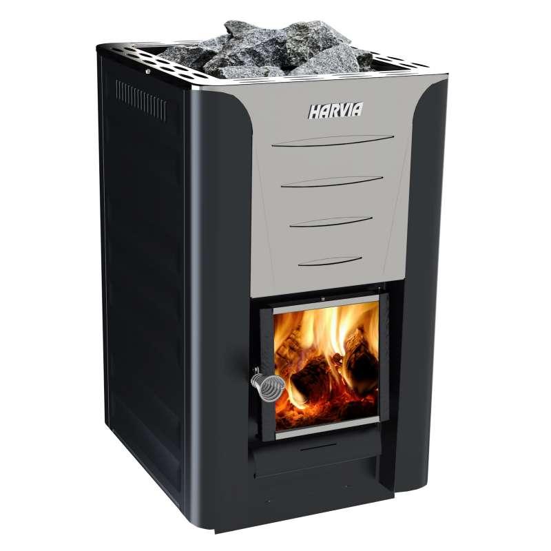 Harvia 20 Pro Saunaofen 24,1 kW BImSchV Stufe 2 Holzofen holzbeheizt WK 200