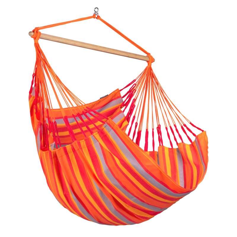 La Siesta Hängestuhl DOMINGO Comfort toucan orange Lounger DOL18-28