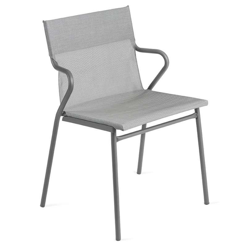 Lafuma Horizon Sessel Objektmöbel Loungestuhl Farbe Pearl LFM9001-9075