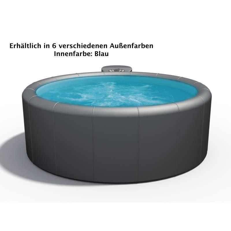 Softub Whirlpool Modell Legend 220 3 bis 4 Personen verschiedene Farben innen blau