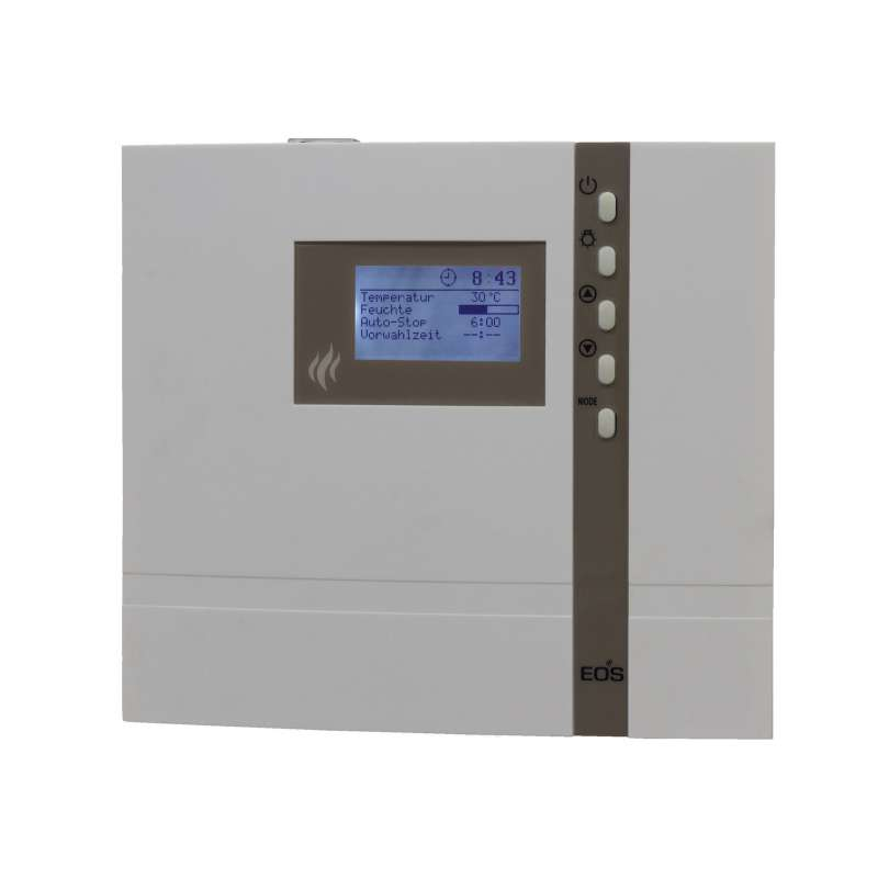 Infraworld Steuerung Saunacontrol H2 für Verdampfer u. Saunaofen 9 kW B6708