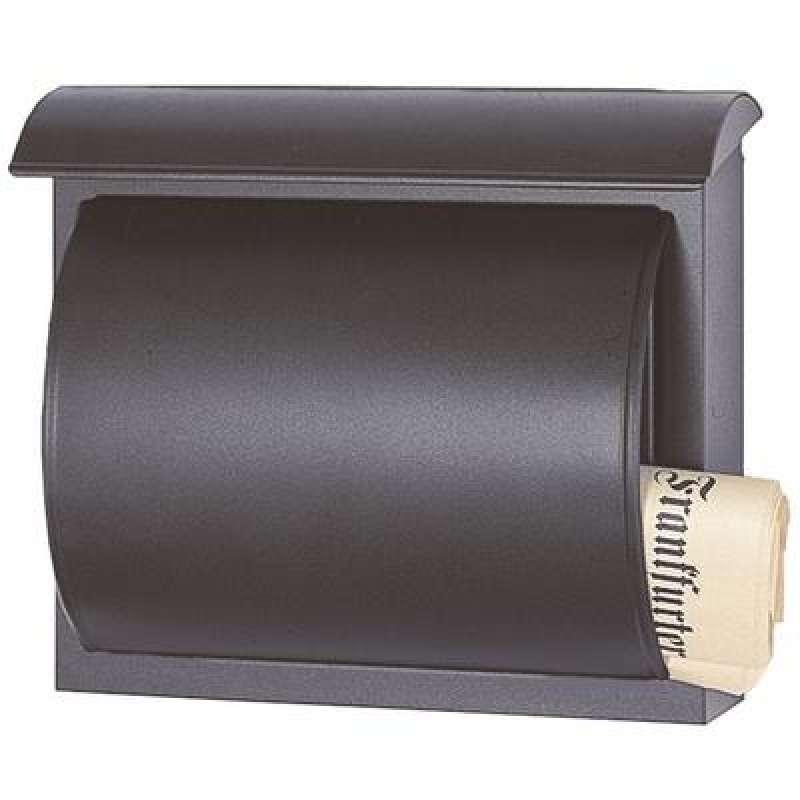 Heibi Briefkasten QUELO verzinkt pulverbeschichtet schwarz glimmer 64158-028