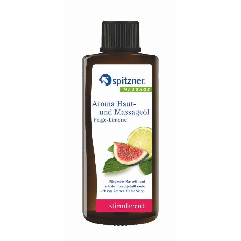 Spitzner Aroma Haut- und Massageöl Feige Limone 190 ml 2740032
