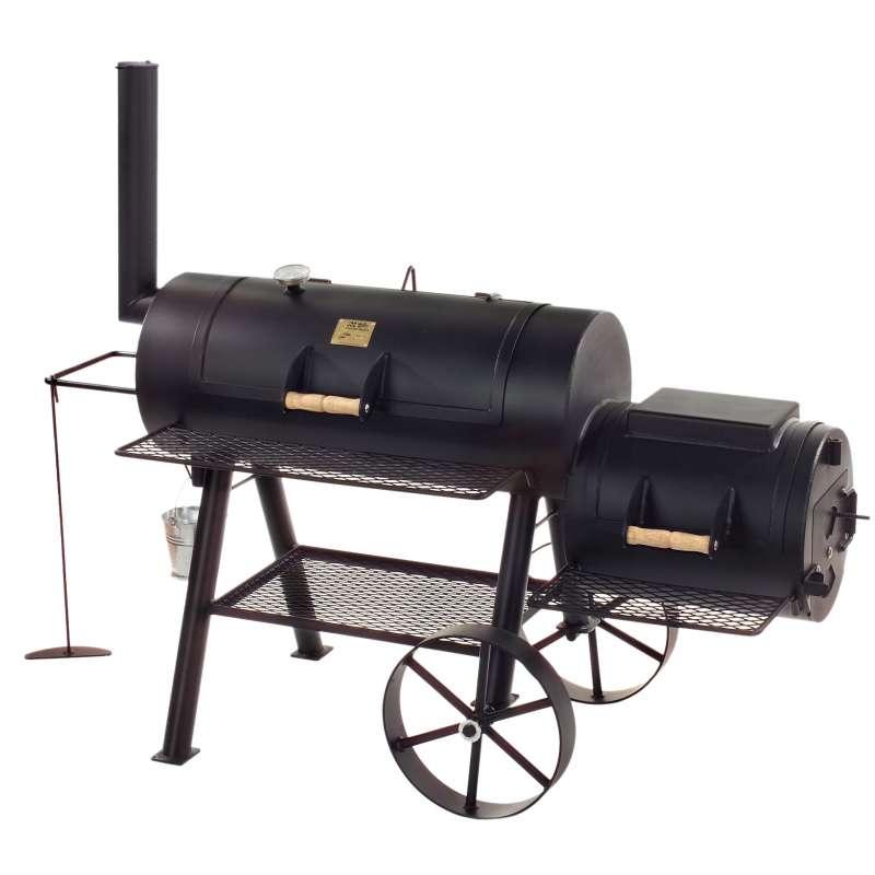 Rumo Barbeque JOEs Smoker 16 Zoll Texas Classic lange Version JS-33752
