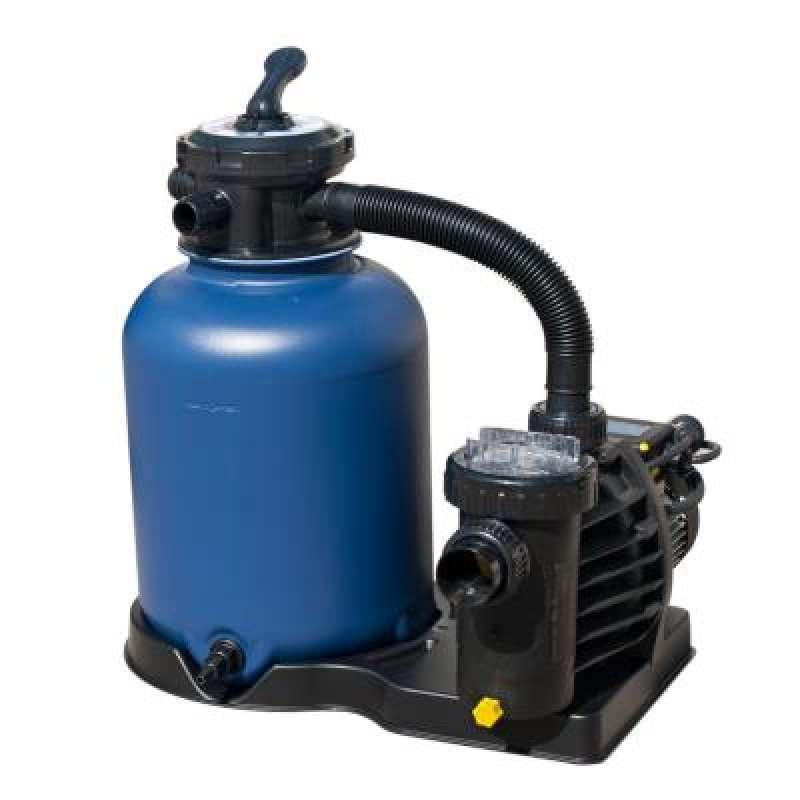 Filteranlage Set 400 mm TOP MOUNT mit flexibler Verbindung zur Pumpe 451140000