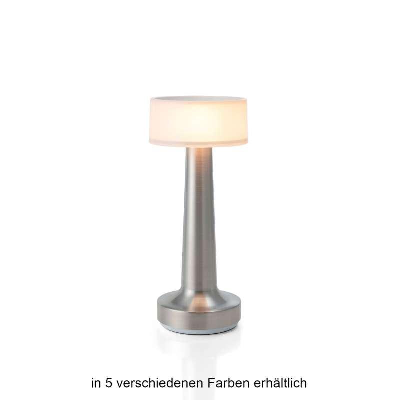 NEOZ kabellose Akku-Tischleuchte COOEE 2 Uno LED-Lampe dimmbar 1 Watt 21x9 cm