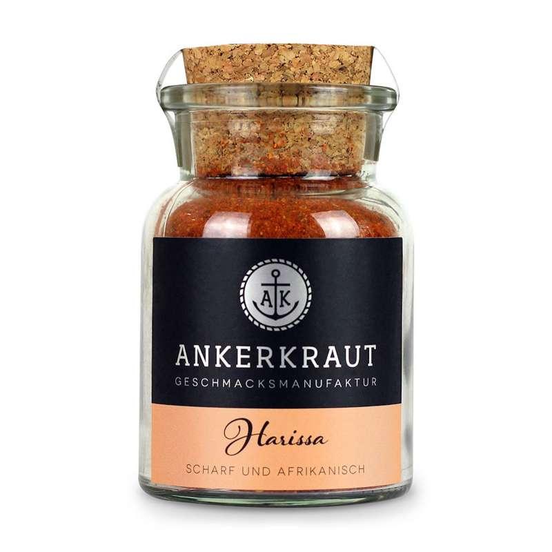 Ankerkraut Harissa Gewürzmischung im Korkenglas 90 g Scharf und Afrikanisch