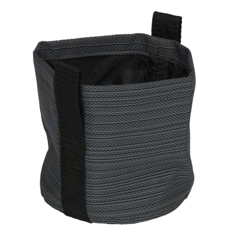 Stern Übertopf Textilen karbon Ø 15 cm Textilübertopf
