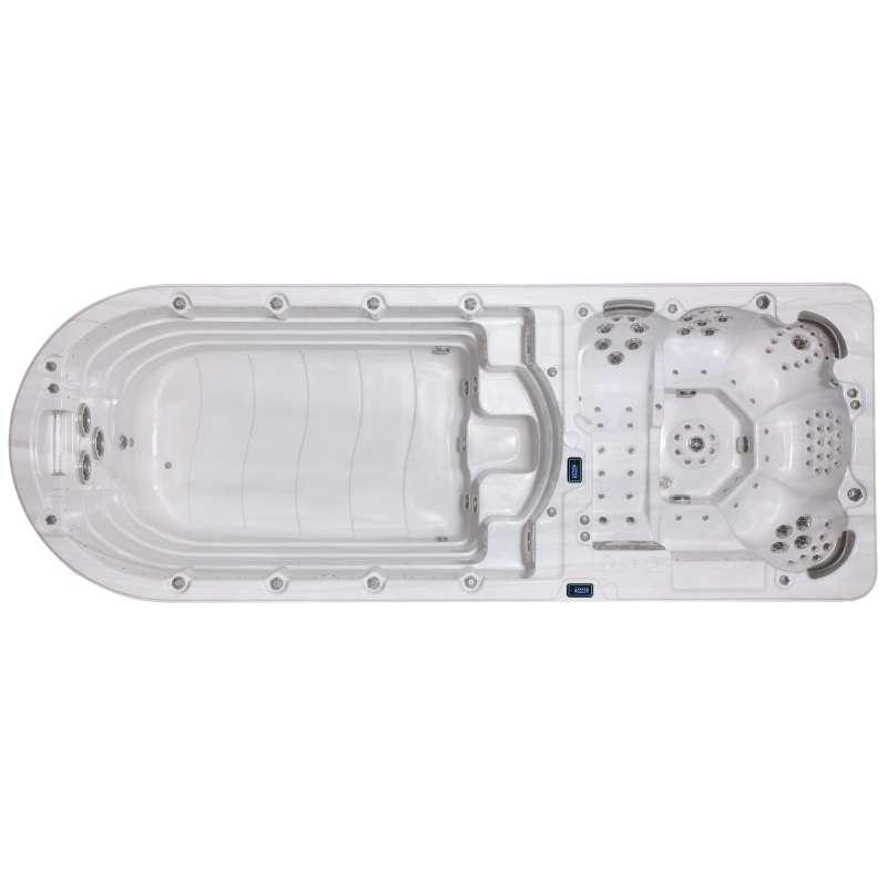 A-Spas Tandem 6500 Swim Spa Whirlpool-/ Schwimmbereich getrennt 595 x 220 x 163 cm
