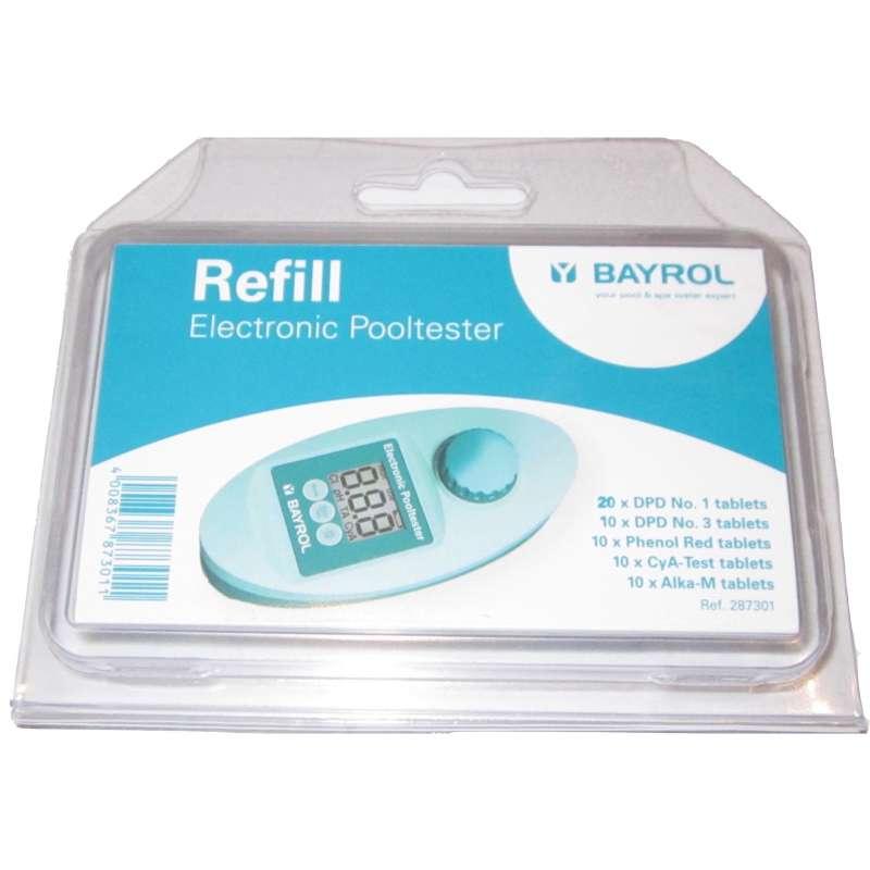Bayrol Refill Nachfüllpack Tabletten für elektronischen Pooltester 287301