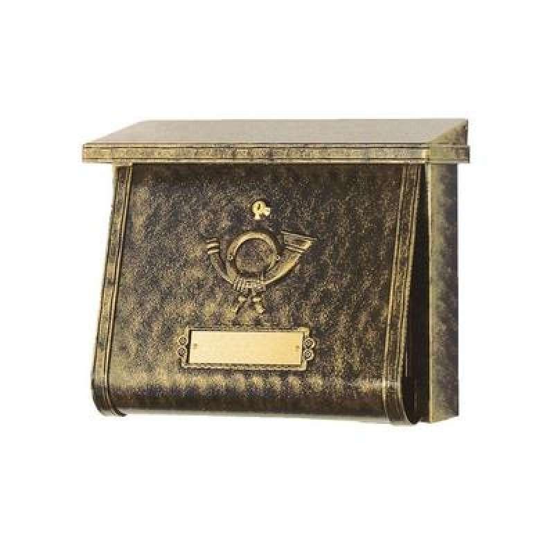 Heibi Briefkasten MULTI verzinkt pulverbeschichtet terra bronze 64104-001