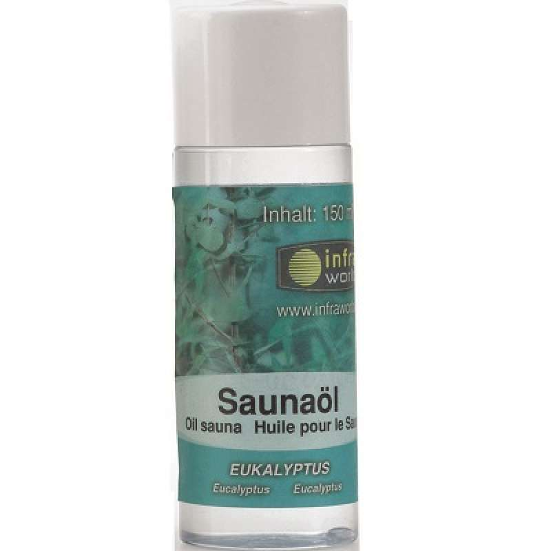 Infraworld Saunaöl Eukalyptus Saunaaufguss Saunaduft 150 ml S2263-4