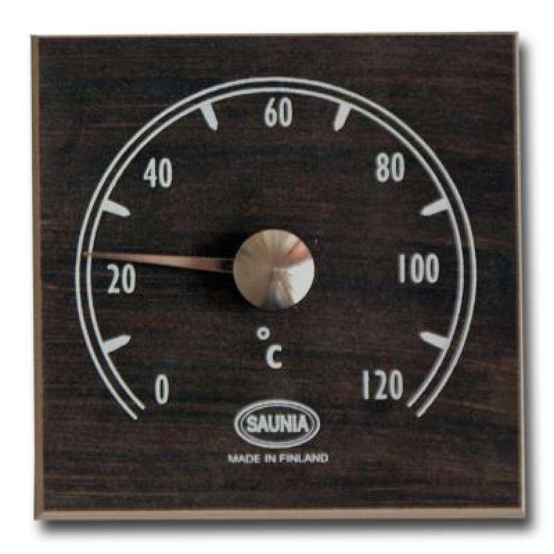 Nikkarien Sauna Thermometer wärmebehandeltes Holz dunkle Erle 418