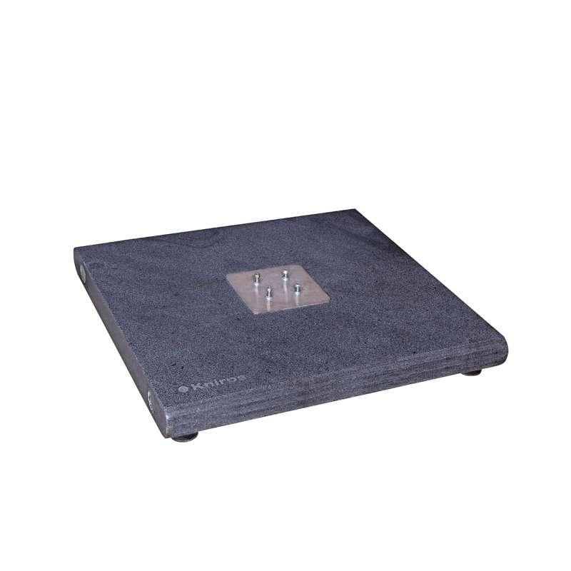 KNIRPS Granitsockel 140 kg für Pendular 275 x 275 / ø 340 cm Sockel 80 x 80 cm Schirmständer