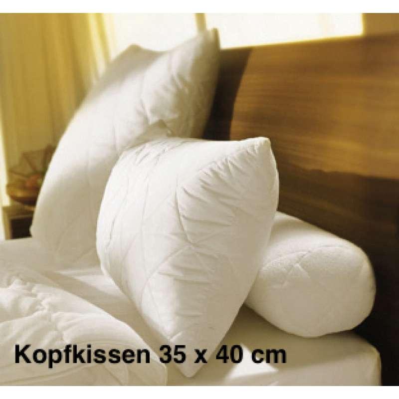 Hofmann Kopfkissen Morpheus 35 x 40 cm Kindergröße Allergiker Bettware 71105