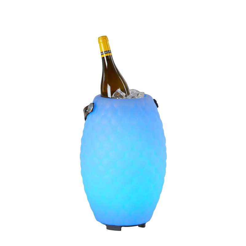The Joouly 35 Limited Bluetooth Lautsprecher Farbwechsel Lampe mit Getränkekühler