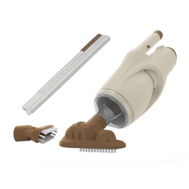 Kokido Boreal Poolsauger Wiederaufladbarer Unterwasser-Vakuumsauger mit Saug- und Bürstenkopf