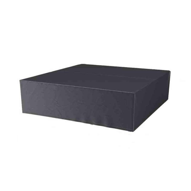 AeroCover Schutzhülle für rechteckige Lounge-Sets 255x255xH70 cm Schutzhaube Sitzgruppe