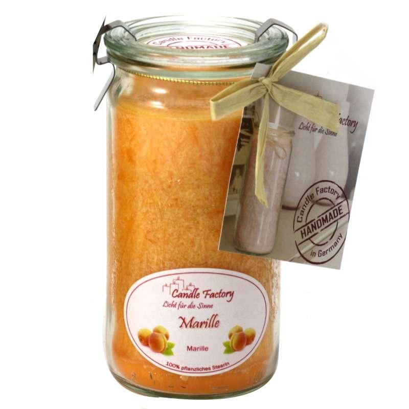 Candle Factory Mini Jumbo Marille Duftkerze Dekokerze 307-070