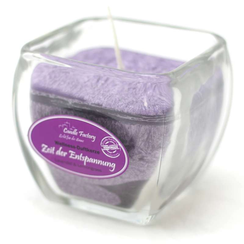Candle Factory Wellness Duftkerze Zeit der Entspannung Dekokerze 800-025