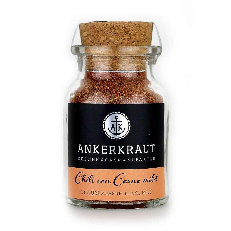 Ankerkraut Chili Con Carne mild Gewürzmischung im Korkenglas 80 g Chiligewürz