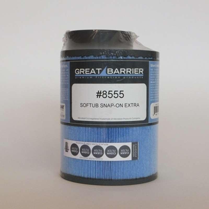 Softub Filter Snap on antibakteriell Softub Whirlpool Modell bis 2009 33033000