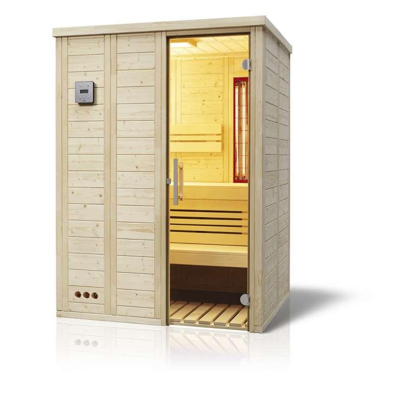 Infraworld Sauna Vitalis 148 Complete Infrarotsauna Größe 148 x 119 cm 391087