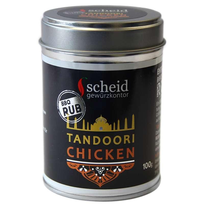 Scheid Tandoori Chicken Gewürzmischung BBQ Rub 100 g