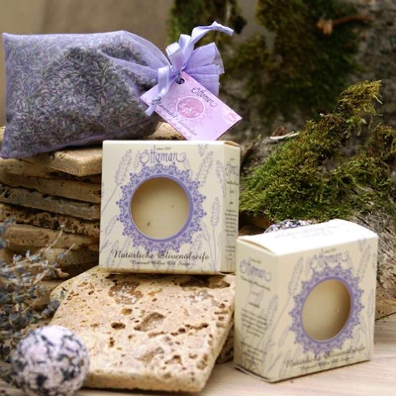Infraworld Natürliche Olivenölseife Lavendel 100g S2239-1
