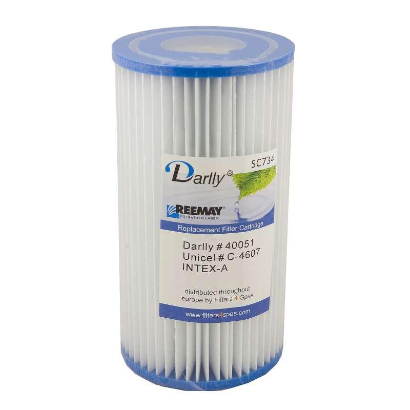 Darlly® Filter Ersatzfilter SC734 Lamellenfilter Intex A Pools Whirlpool