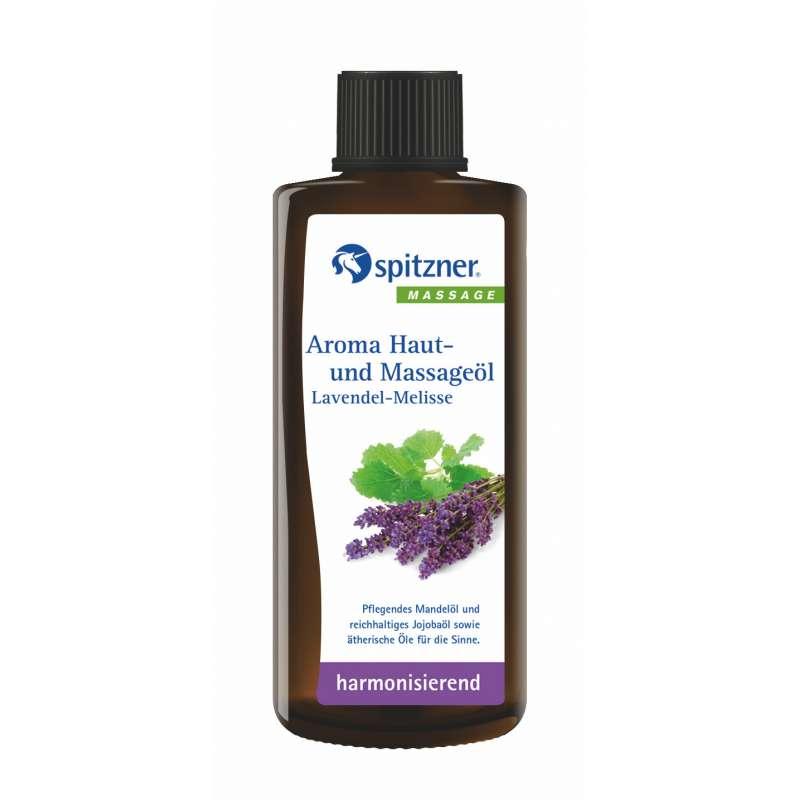 Spitzner Aroma Haut- und Massageöl Lavendel Melisse 190 ml 27400026