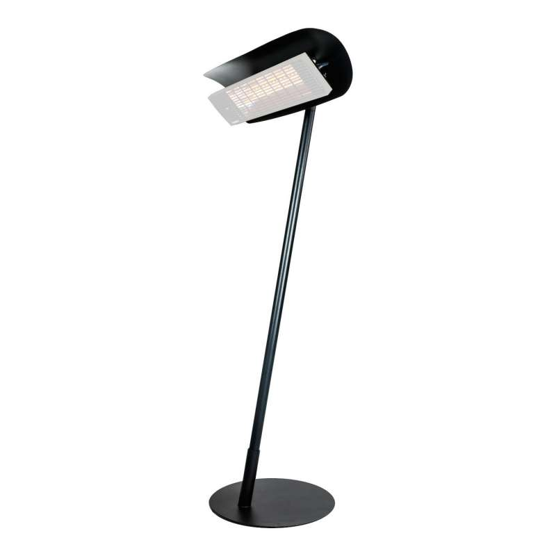 Heatscope Free Design-Ständer für Heizstrahler schwarz/weiß/Holzoptik für Vision 2200 Watt