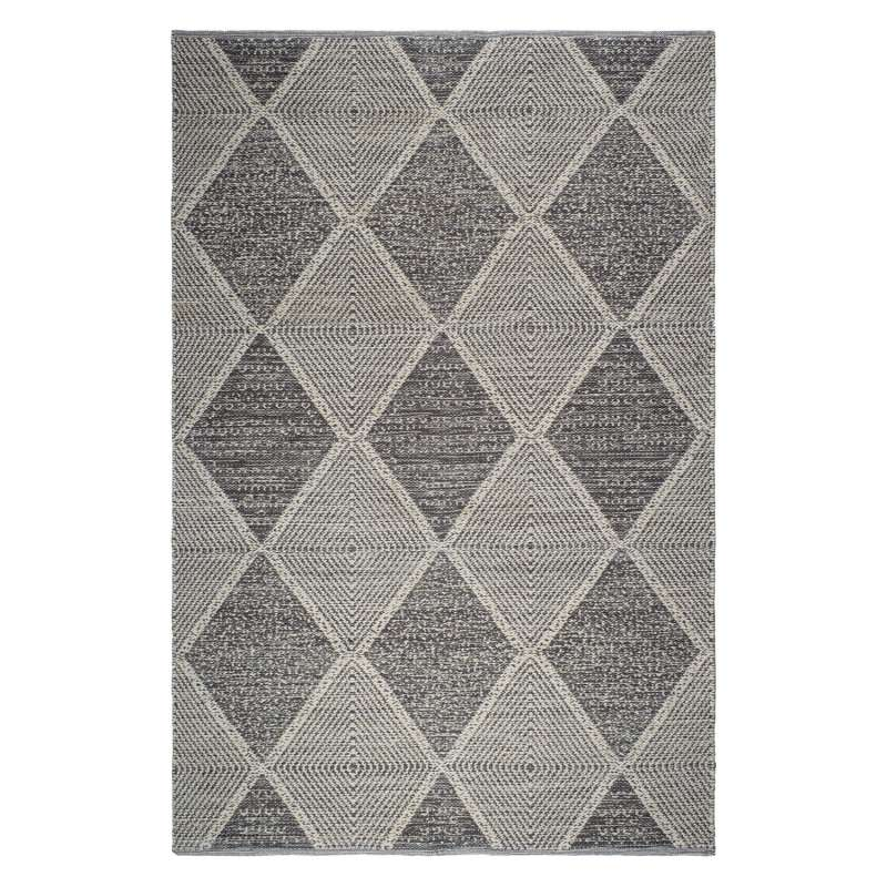 Fab Hab Outdoorteppich Hampton Gray aus recycelten PET-Flaschen grau 240x300 cm