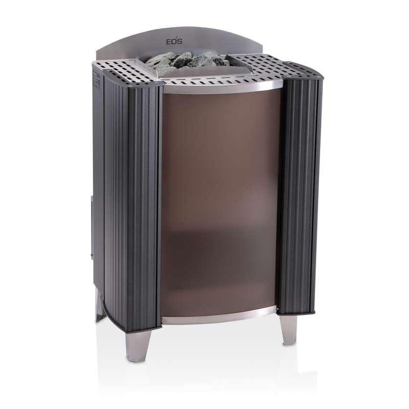 Eos Premium Saunaofen Standofen Germanius 15 kW anthrazit perleffekt 94.3932