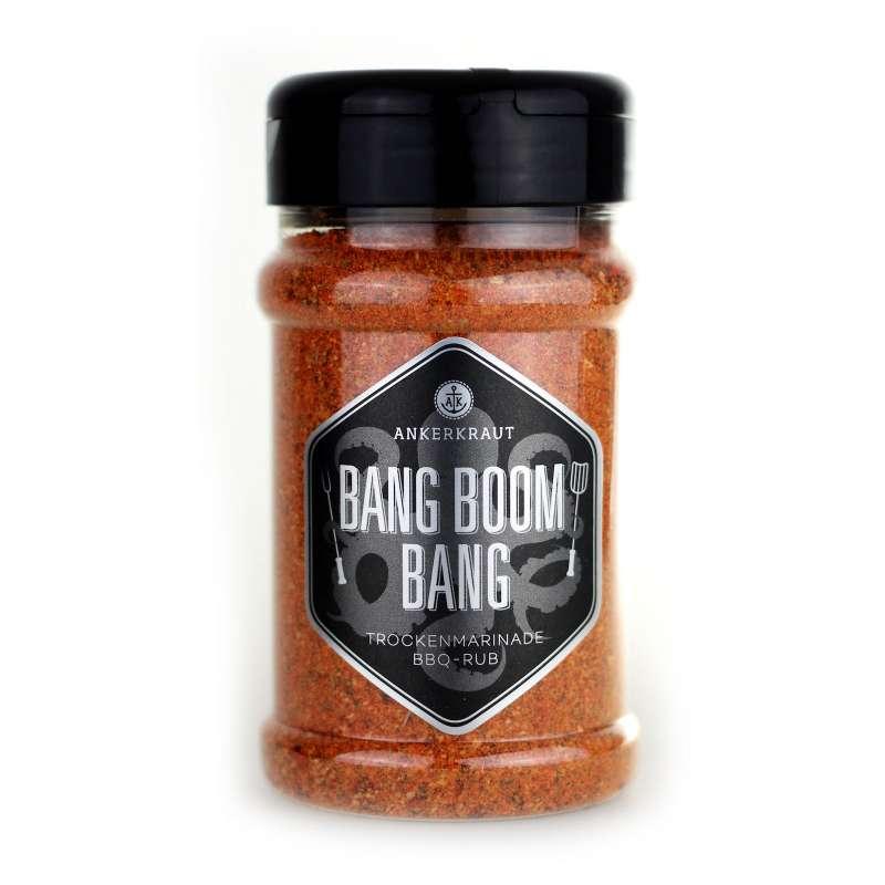 Ankerkraut Bang Boom Bang BBQ Rub Gewürzmischung im Streuer 210 g Trockenmarinade