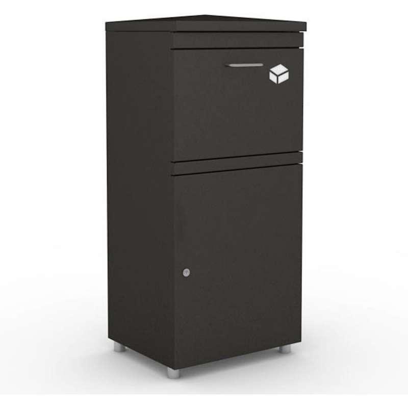Heibi Paketkasten XL Stahl graphitgrau Paketbox bis zu 40x39x29 cm entnahmesicher