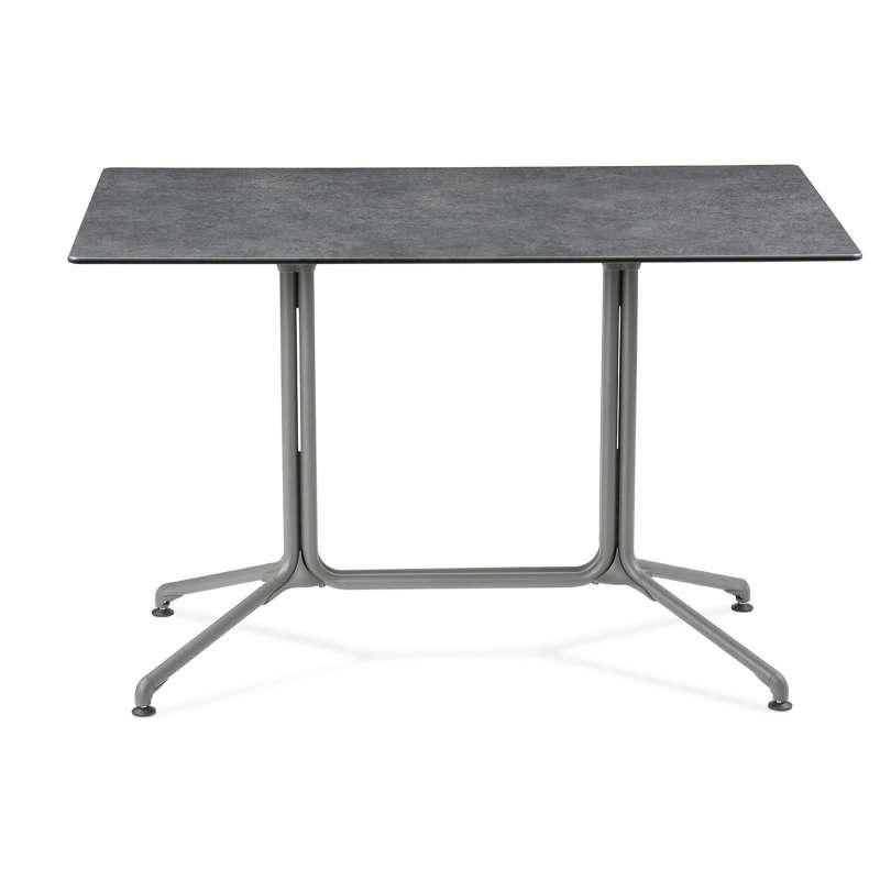 Lafuma Horizon Tisch Objektmöbel Loungetisch ca. 115x70x74,5 cm Mineral