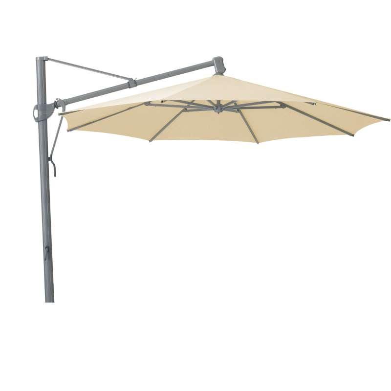 GLATZ Sonnenschirm SOMBRANO® easy rund ø 400 cm Stoffklasse 2 Eggshell 150