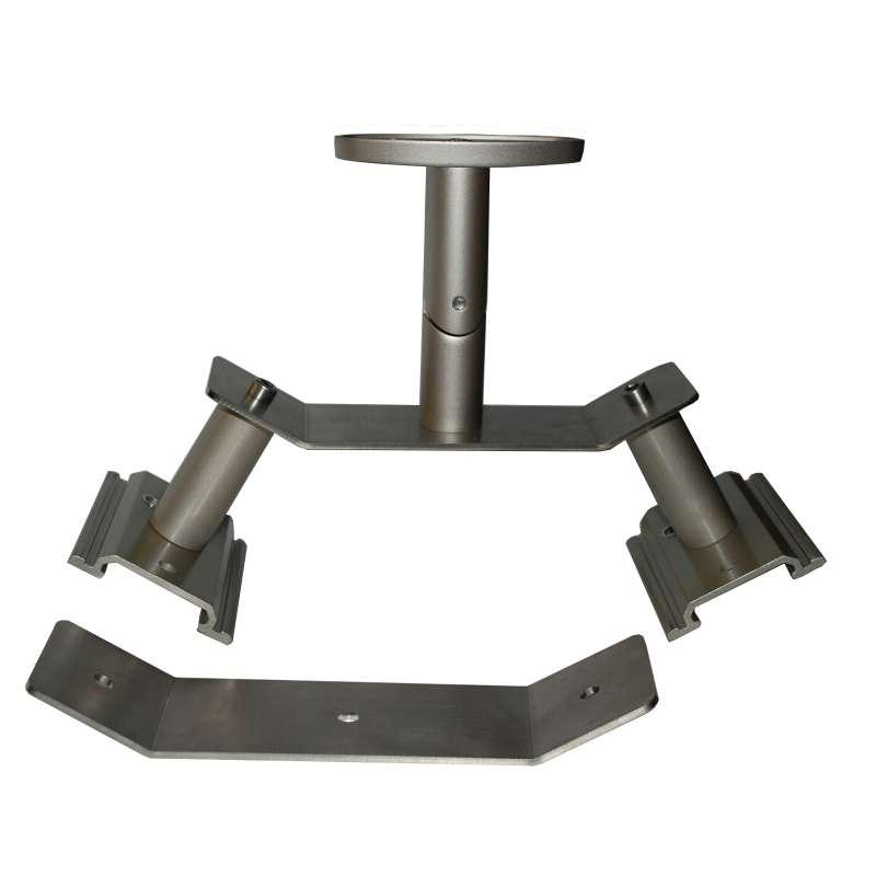 Heatscope Doppelabhängung zur Befestigung von zwei Heizstrahlern Vision oder Spot Edelstahl